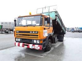 kipper vrachtwagen > 7.5 t DAF 1700 ex city-commune 201000km 1987