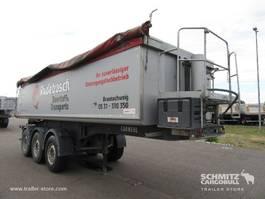 kipper oplegger Carnehl Kipper Alu kasten geïsoleerde trog 24m³ 2017