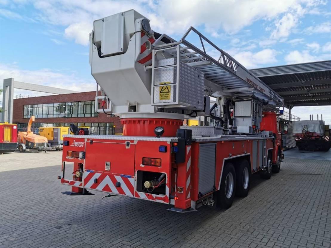 autohoogwerker vrachtwagen Scania 113H 340 8x2 Bronto Skylift F42 HDT 2000 22.000 KM! 1989
