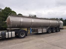 tankoplegger ETA tank in roestvrij staal 29000 L - 6 compartimenten