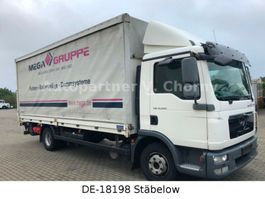 schuifzeil vrachtwagen MAN TGL 12.220 Plane+LBW+Schalter 2012