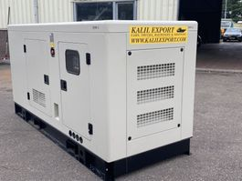 generator Ricardo 100 KVA Silent Generator 3 Phase 50HZ New Unused 2020