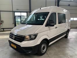 gesloten bestelwagen Volkswagen CRAFTER l3h2 dubcab airco nieuw ongebruikt 2019