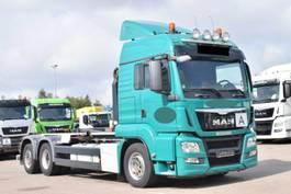containersysteem vrachtwagen MAN TGS 26.440 6x2-2 BL VDL Lift/Lenk 2014