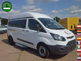 mpv auto Ford Transit Custom 330 L2H2 KLIMA Rohlstuhltransport 2014