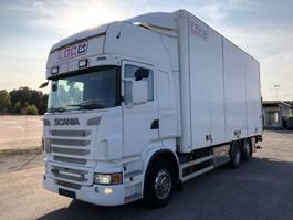 bakwagen vrachtwagen > 7.5 t Scania R500 , 6X2*4, Box-truck, Euro 5, 2010 *Excellent* 2009