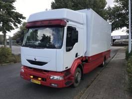 bakwagen vrachtwagen > 7.5 t Renault MIDLUM 270-12/C gesloten laadbak klep low km 2003