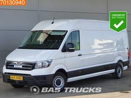 gesloten bestelwagen MAN TGE 3.140 2.0 TDI 140PK Automaat Euro6 Airco Mooie auto!! L4H3 15m3 A/C 2019