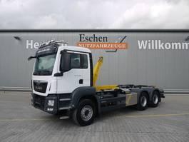 containersysteem vrachtwagen MAN TGS 26.460 6x4 BL, Euro 6, AP Achsen, Palfinger Power 20a 2017