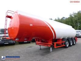 tankoplegger Cobo Fuel tank alu 38.5 m3 / 6 comp + counter 2010