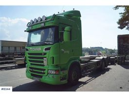 containersysteem vrachtwagen Scania R560 6x2 Container chassis with good tires. WATCH 2013