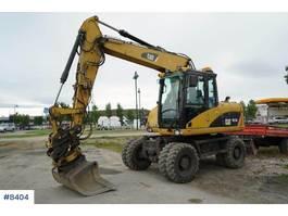 wielgraafmachine Caterpillar 313D wheeled excavator 2008