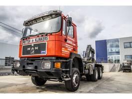 containersysteem vrachtwagen MAN 33.372 - 32 700 KM ! 1990