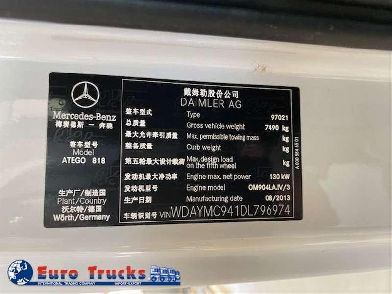 Mercedes-Benz - 818L/New Euro4 8
