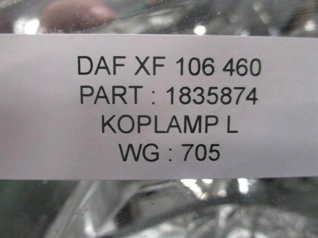 Koplamp vrachtwagen onderdeel DAF 1835874 XF 106 Links