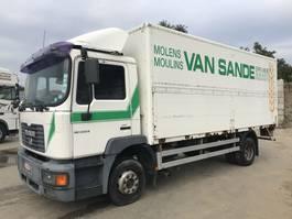 bakwagen vrachtwagen > 7.5 t MAN LE220B **6CYL-MANUAL PUMP-FULL STEEL** 2001