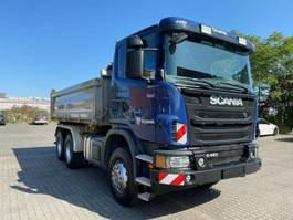 kipper vrachtwagen > 7.5 t Scania 480 3S Meiller Bordmatik 6x4 Hand Retarder 1.H 2013