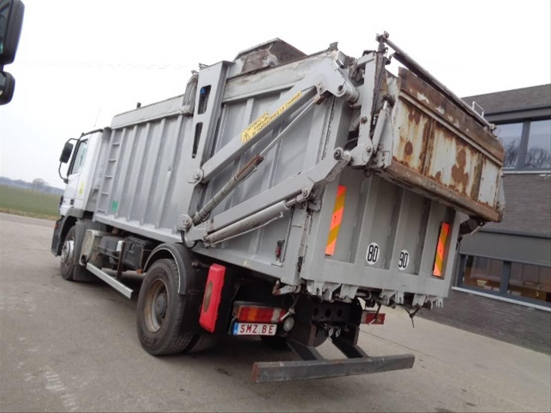 Opbouw vrachtwagen onderdeel Diversen Occ Vuilniswagen opbouw