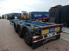 container chassis oplegger Renders ROC Chassis / Extendable / MB Disc / lift axle 2001