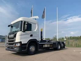 containersysteem vrachtwagen Scania G410 6x2 Uusi 2019