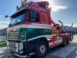 containersysteem vrachtwagen Volvo FH 13-500 8X4 EURO 5 + MULTILIFT HAAK 20 TON 2010