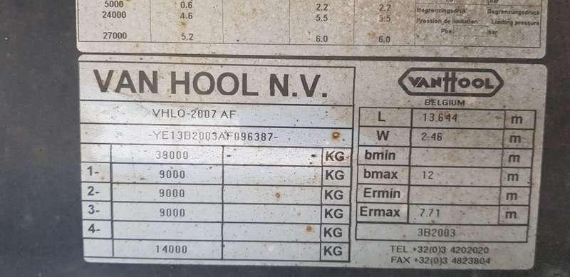 Van Hool - 3 axel mega  Drum brakes 4