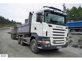 kipper vrachtwagen > 7.5 t Scania R560 6x4 tipper truck with manual 2009
