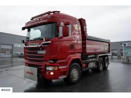 kipper vrachtwagen > 7.5 t Scania R580 6x4 tipper complete snow rigged (euro 6) 2015