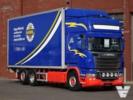 bakwagen vrachtwagen > 7.5 t Scania R480 6x2*4 - Topline - Side opening - Loadlift - Retarder 2010