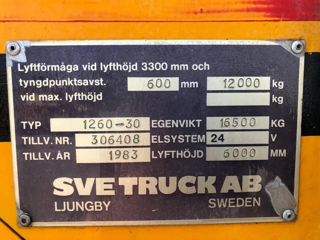 vorkheftruck SVE SVE 1260-30 1981