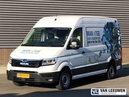 gesloten bestelwagen MAN E-TGE 4.140 volledig elektrisch wb 3.640mm 2019