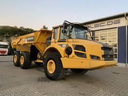 open laadbak vrachtwagen Volvo A25F Dumper 21,9 Ton 12.616 Stunden TOP 2011