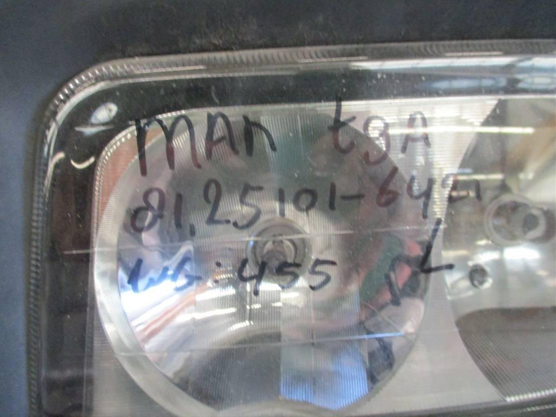 Koplamp vrachtwagen onderdeel MAN 81.25101-6421 Links TGA