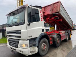kipper vrachtwagen > 7.5 t DAF CF 85 .480 8X4 EURO 3 MANUAL FULL STEEL 2005