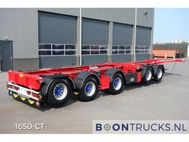 container chassis oplegger Broshuis 2CONNECT-5AKCC | NEW/UNREGISTERED * 4 x LIFT AXLE * 3 x STEERING AXLE 2020