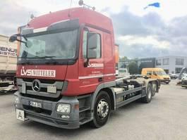 containersysteem vrachtwagen Mercedes Benz Actros 2544 L,6x2, Retarder.,Meiller2070+Funk