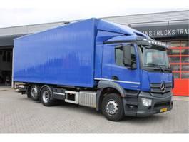 bakwagen vrachtwagen > 7.5 t Mercedes Benz Antos 2530L wb=430 cm + 140cm Bakwagen 2015