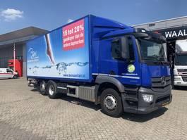 bakwagen vrachtwagen > 7.5 t Mercedes Benz Antos 2530 L wb=430 cm + 140 cm Afzetsyteem/Bakwagen 2015