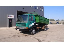 kipper vrachtwagen > 7.5 t DAF 45 ATI 160 (MANUAL PUMP / STEEL SUSP.) 1995