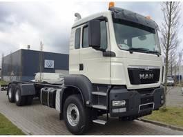 chassis cabine vrachtwagen MAN TGS 33.400 6x4 WW EURO4 RHD 2019
