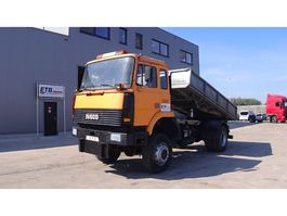 kipper vrachtwagen > 7.5 t Iveco Magirus 180 - 34 (V8 / 4X4 / SUSP. LAMES) 1987