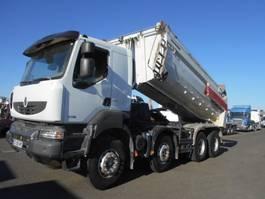 kipper vrachtwagen > 7.5 t Renault Kerax 2013