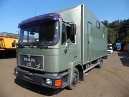 bakwagen vrachtwagen > 7.5 t MAN paardenwagen 1995