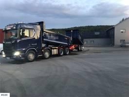 kipper vrachtwagen > 7.5 t Scania R650 Tipp truck w/ Carnehl trailer 2018