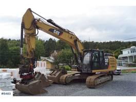 rupsgraafmachine Caterpillar 324 EL Excavator with rotor tilt, 3 buckets and 20 2014