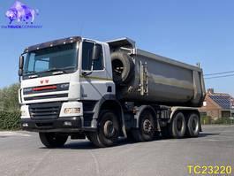 kipper vrachtwagen > 7.5 t DAF CF 85 430 Euro 3 2006