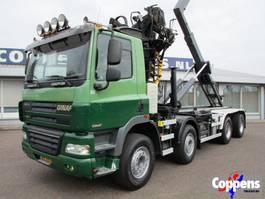 containersysteem vrachtwagen Ginaf X4241 S 460 8X4 Haakarm +Kraan Euro 5 2009