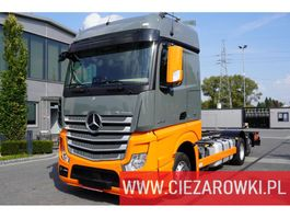 chassis cabine vrachtwagen Mercedes Benz Actros 2548 , E6 , 6x2 , Low Deck/Mega , chassis 7m , StreamSpac 2017