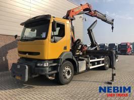 containersysteem vrachtwagen Renault KERAX 370 Euro 3 6x4 - PALFINGER PK21000 R/C 2002