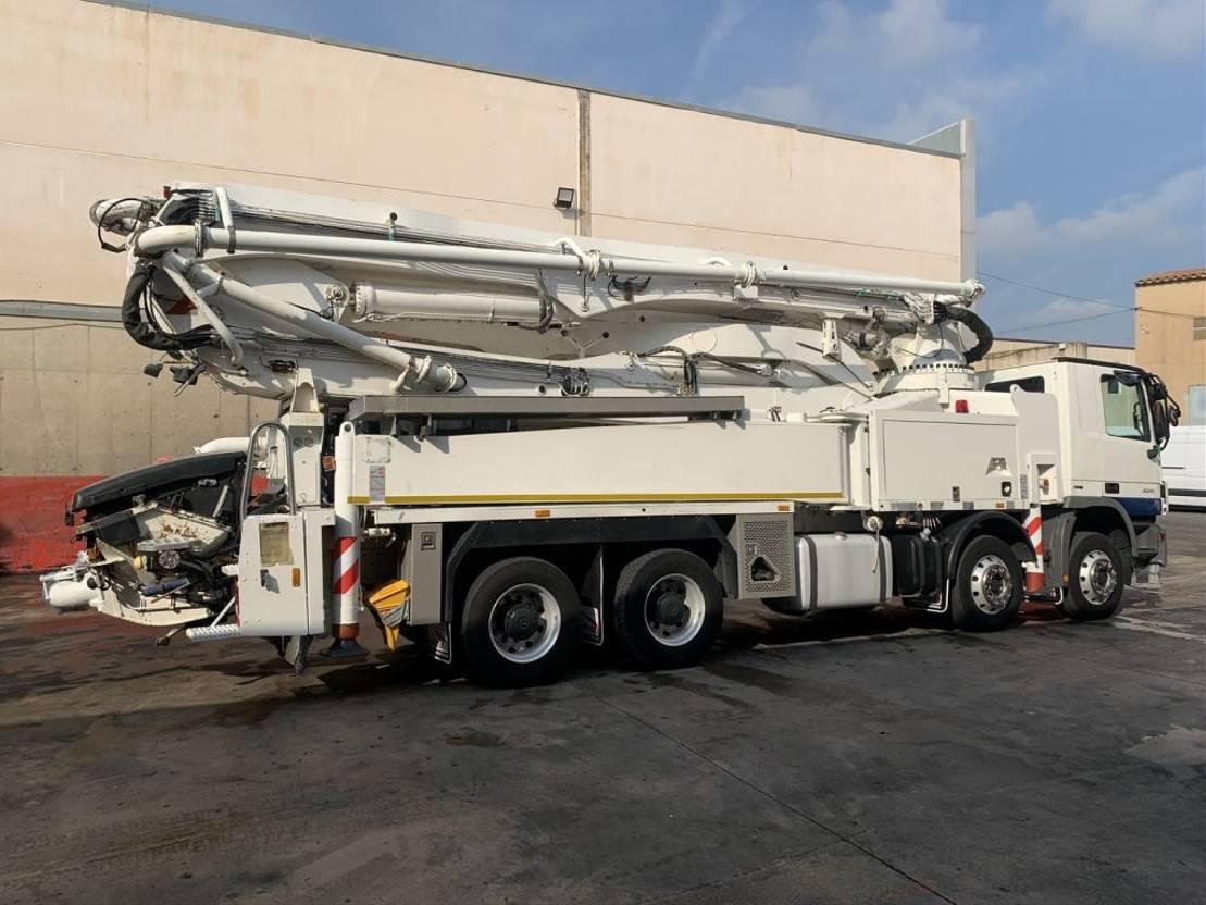 betonpomp vrachtwagen Mercedes-Benz Actros 3341 PUTZMEISTER BSF 42-5.16 2007